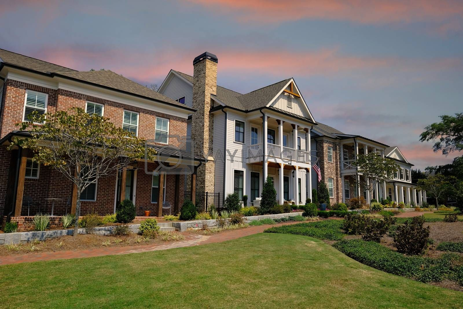 The Alpharetta Historic District contains several historic buildings dating from the late 19th century and older, and includes dining and shopping.