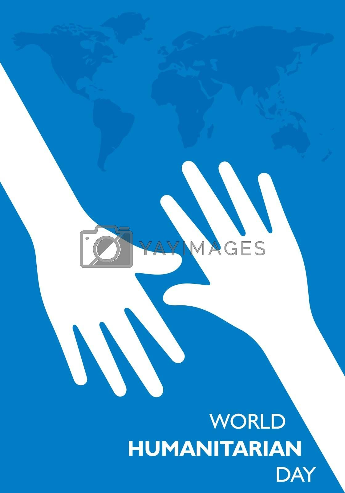 Vector Illustration of World Humanitarian Day observed on 19th August