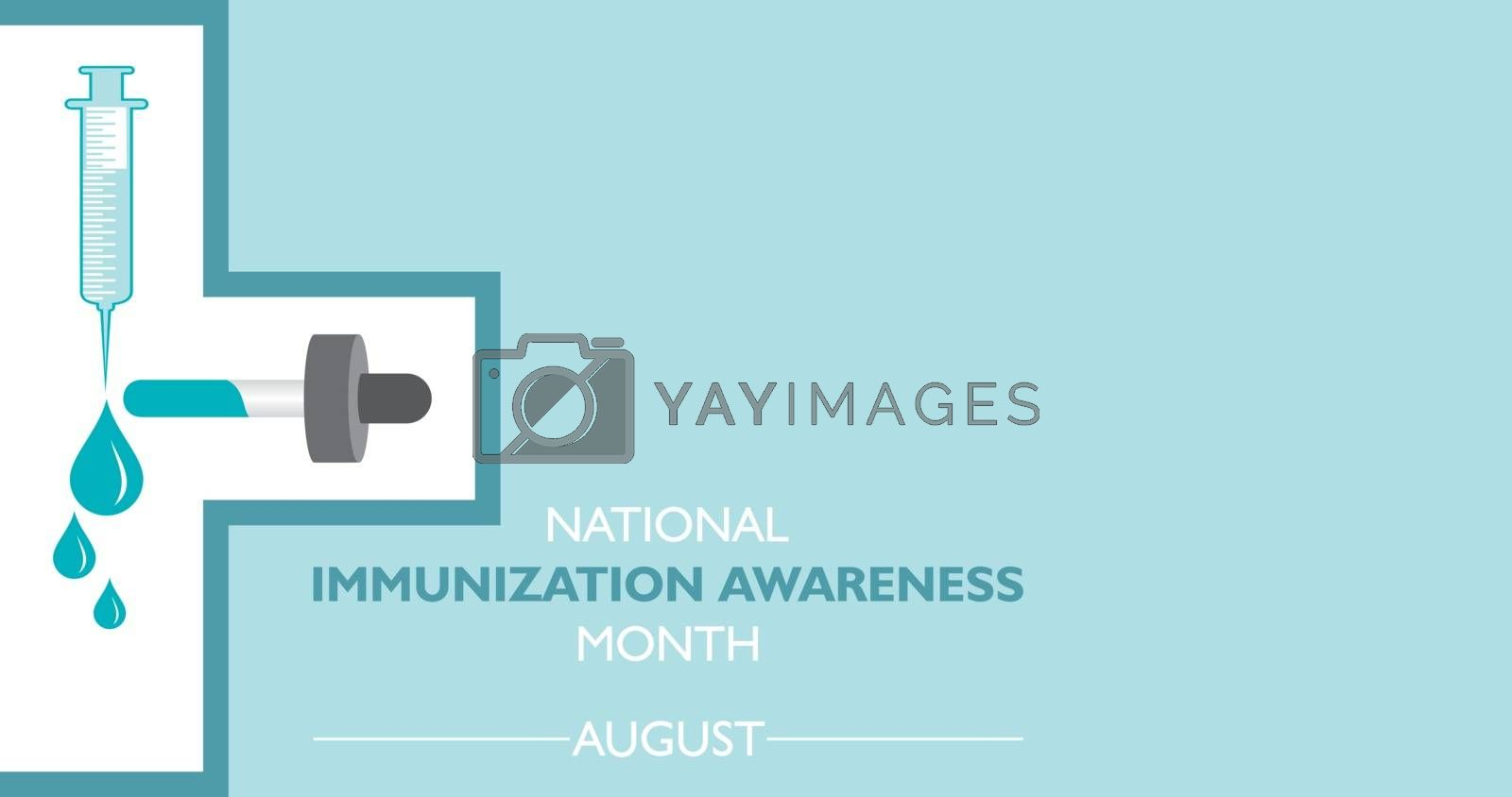 National Immunization Awareness Month observed in August by graphicsdunia4you
