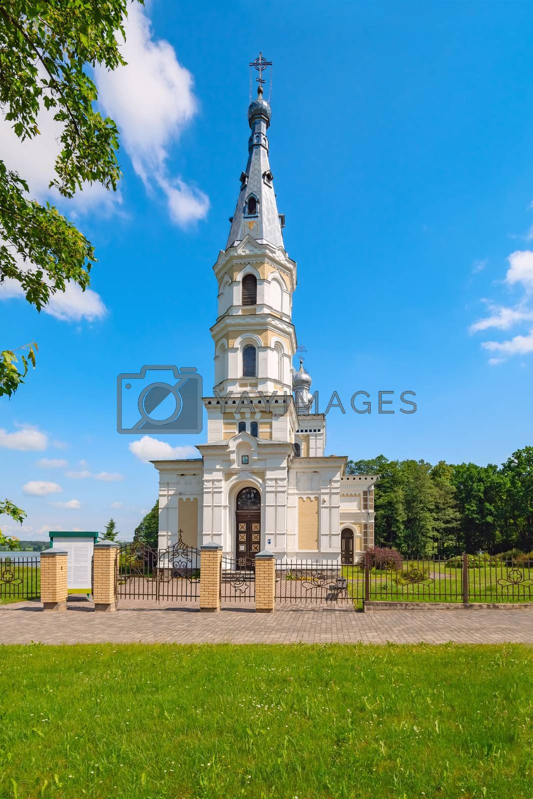 The Orthodox Church of Alexander Nevsky in Stameriena, Latvia