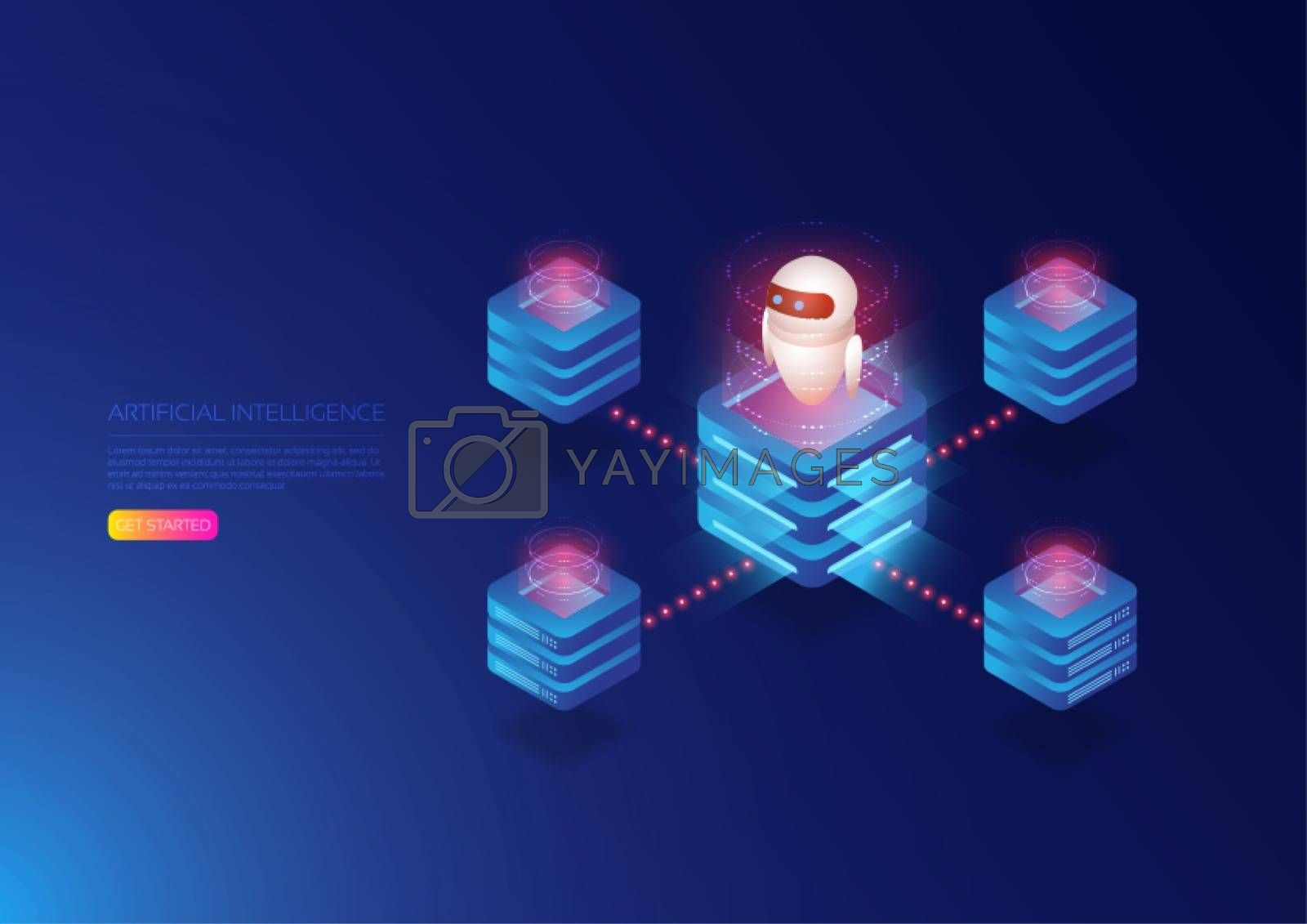 Isometric artificial intelligence, ai analysis with isometric server