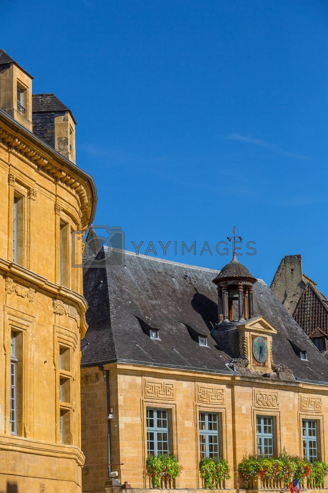 Sarlat-la-Caneda, France: Houses of the centre of the old medieval town of Sarlat-la-Caneda, Dordogne, France.