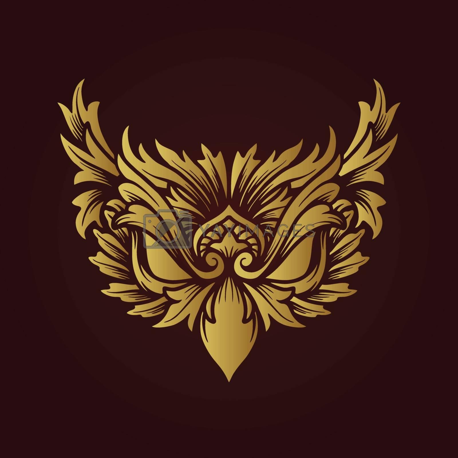 creative logo icon eagle eye design vector illustration