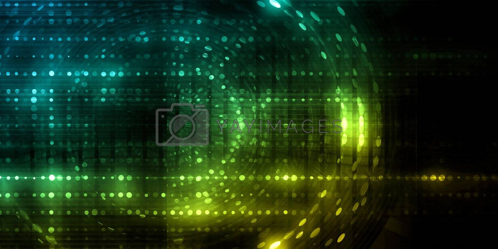 Abstract technology Business Template Background as Art