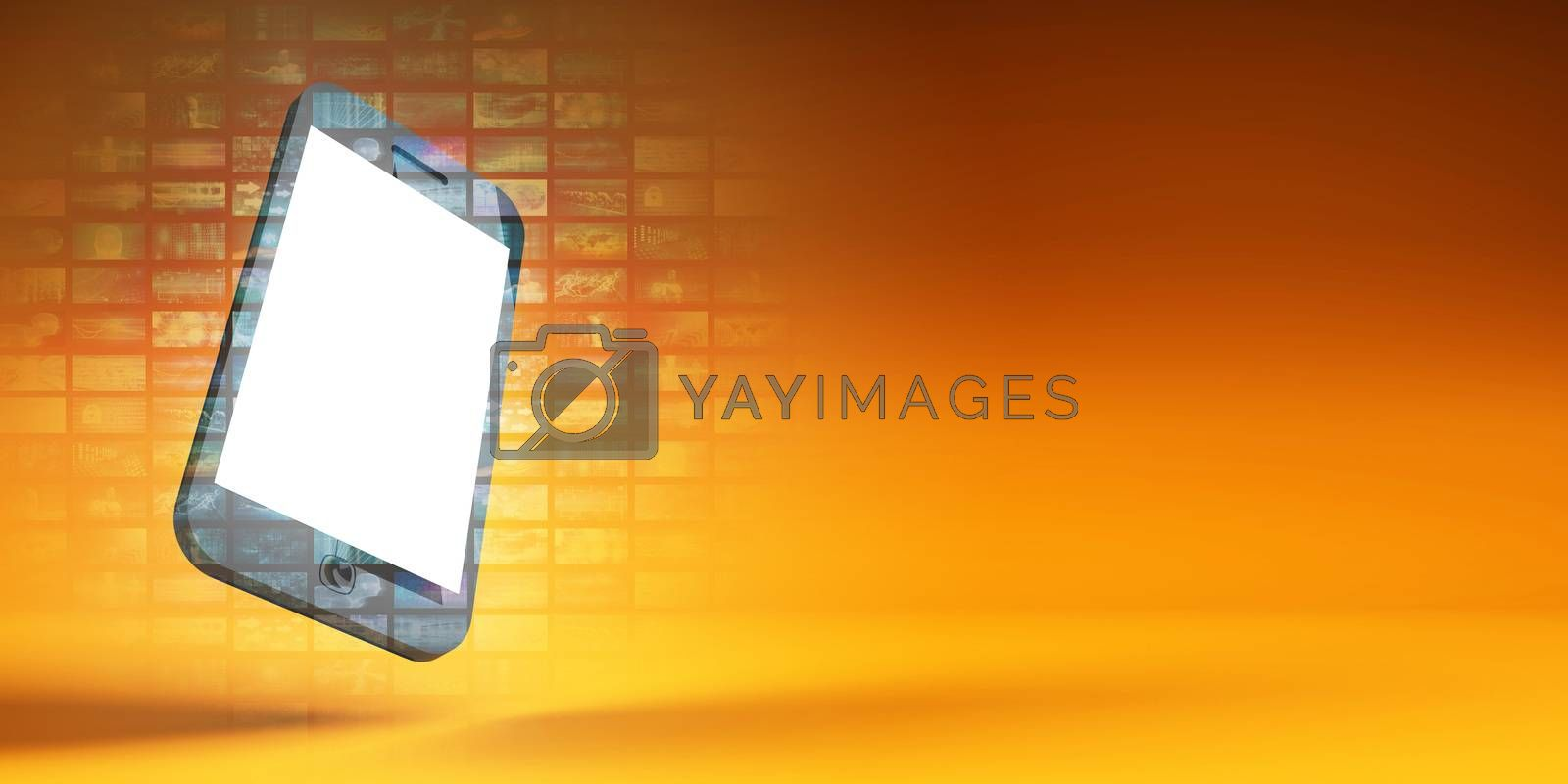 Mobile Phone App Download Now Exciting Background