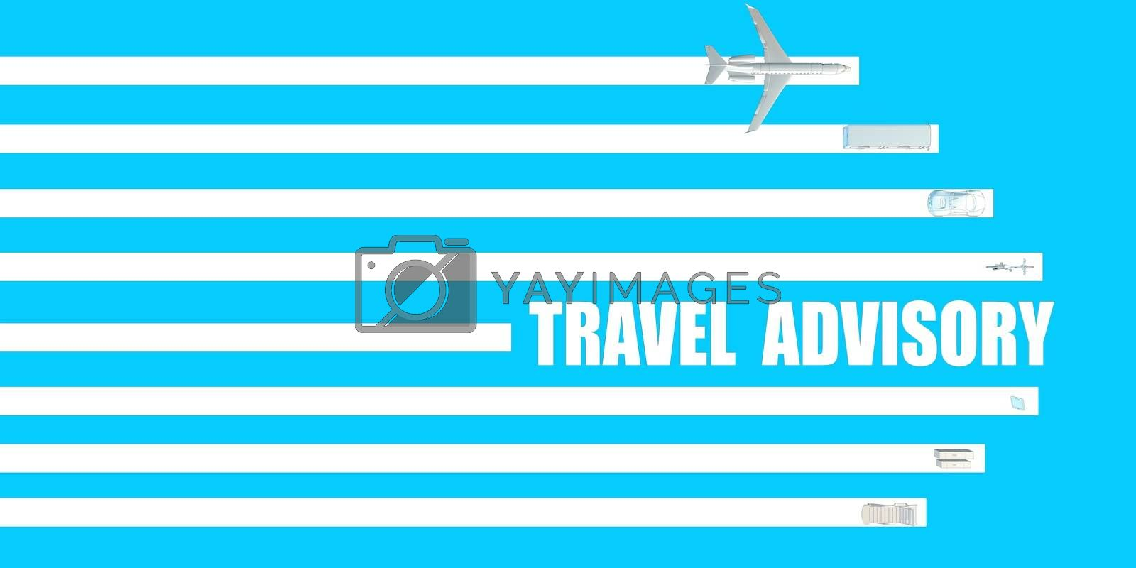 Travel Advisory for Information Update as a Traveler Concept