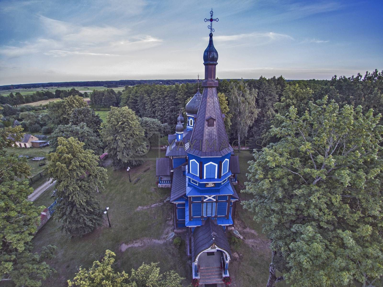 Orthodox Church of the ,,Protection of the Mother of God`` in Puchly, Poland