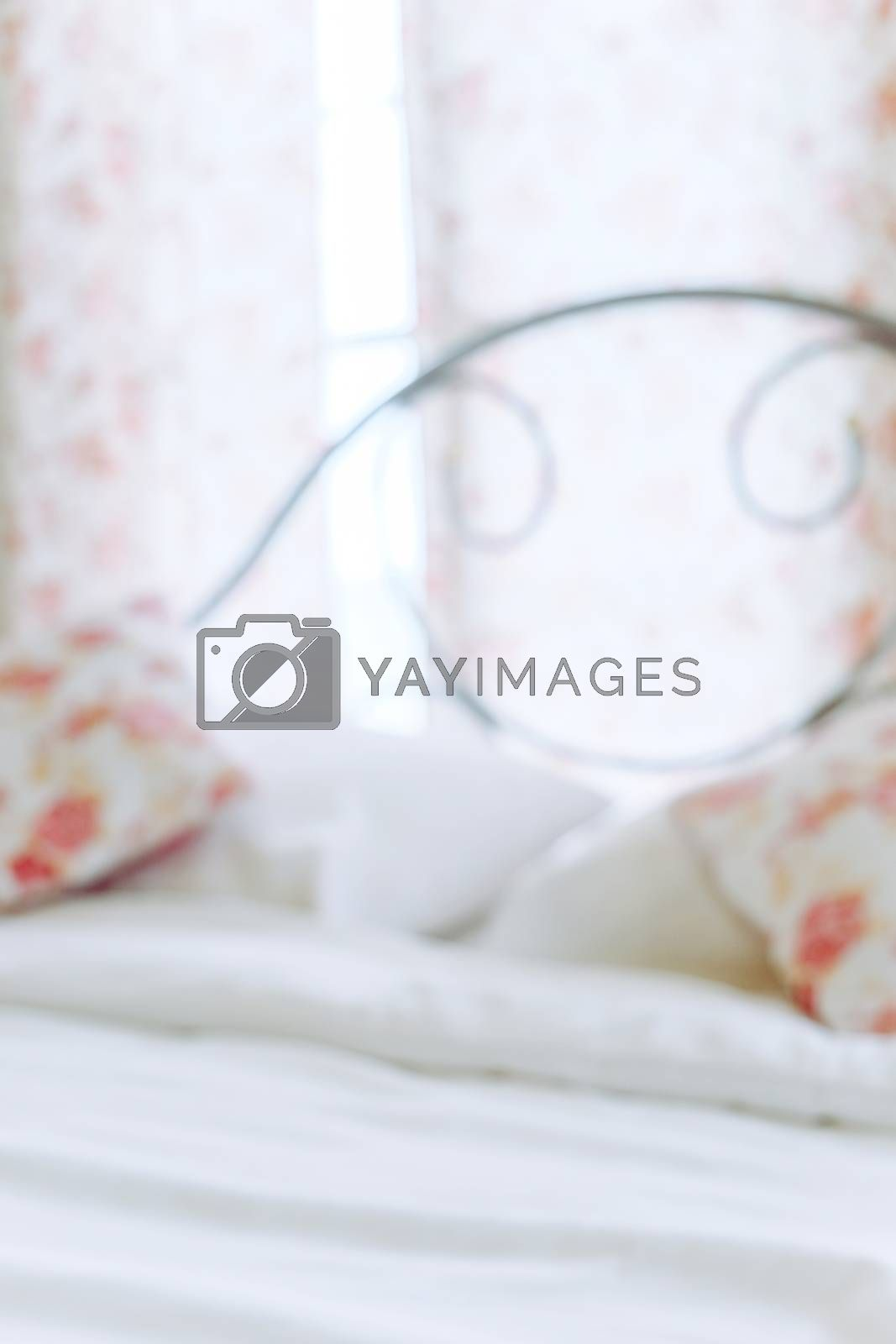 Blurred Background of a Bedroom