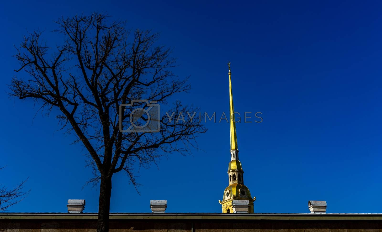April 18, 2018. St. Petersburg, Russia. Peter and Paul fortress in St. Petersburg.