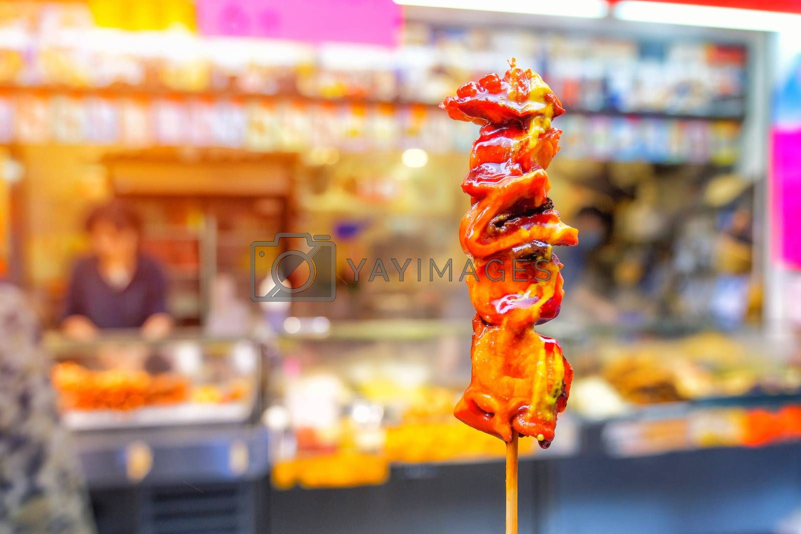 Street food in Hongkong