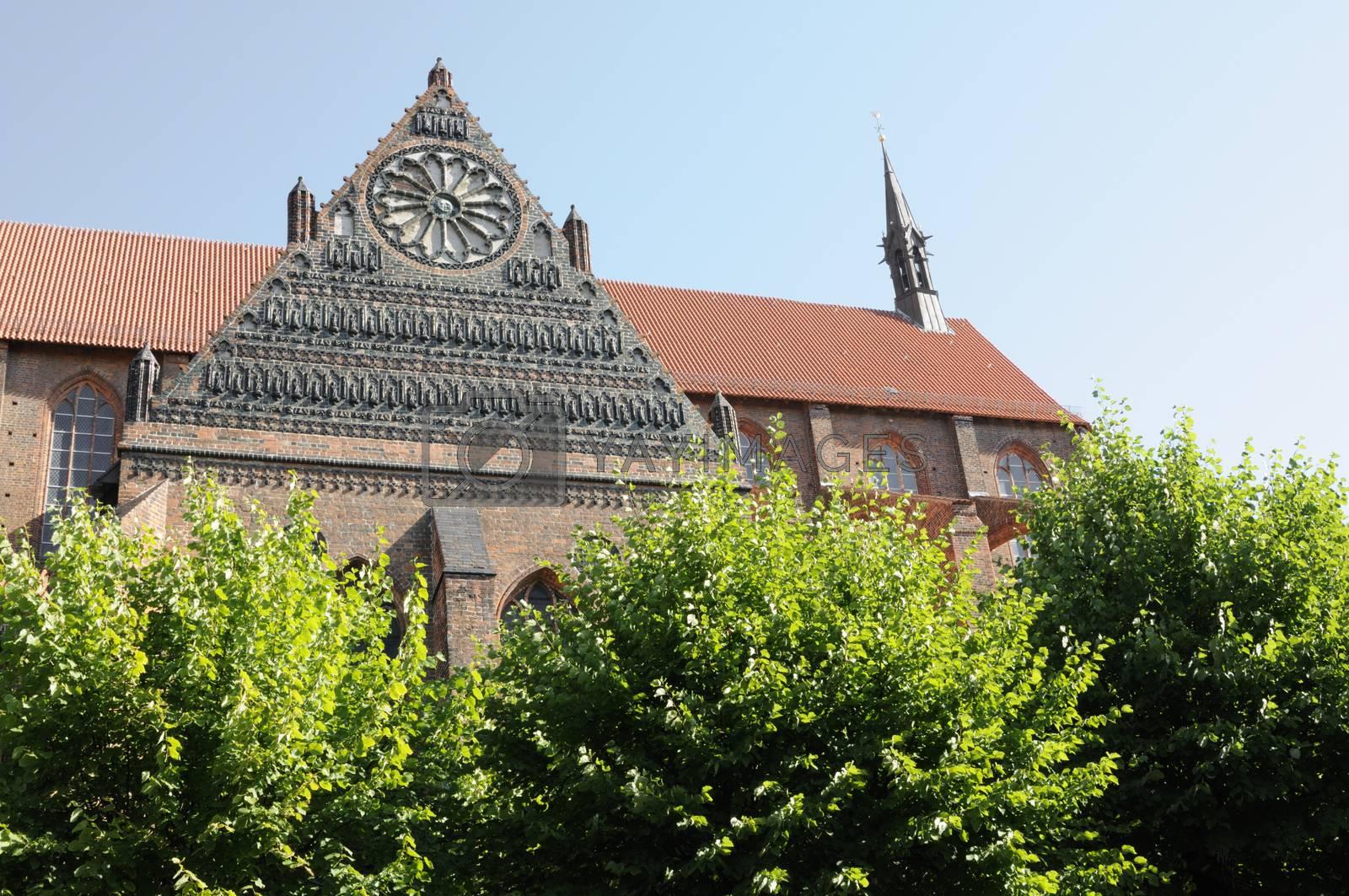 St. Nikolai Church in Wismar, Germany.