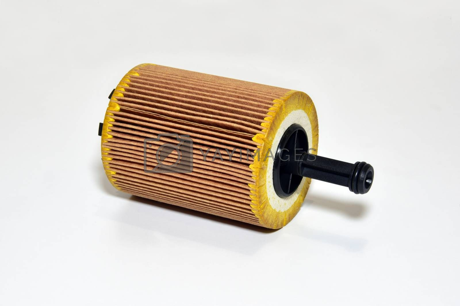 Royalty free image of Car engine oil filter by aselsa