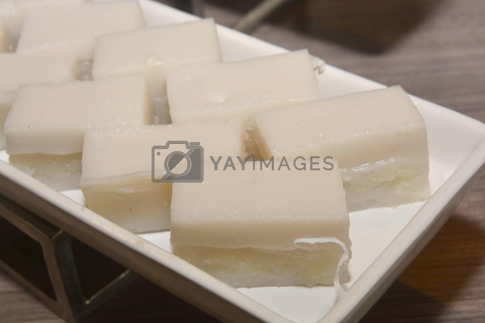 Coconut Milk Jelly (Thai Dessert) - Wun Kati