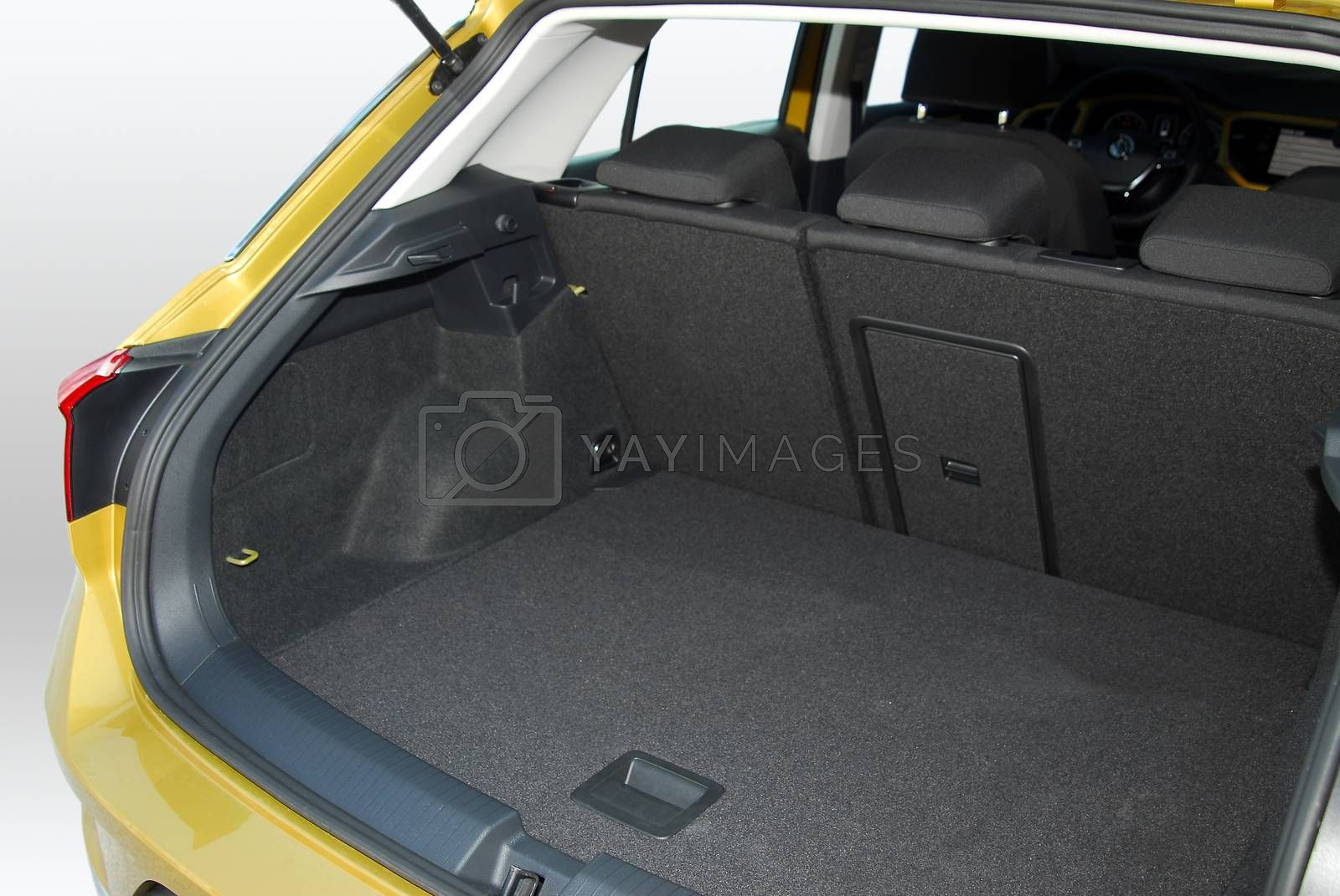 Royalty free image of Car trunk by aselsa