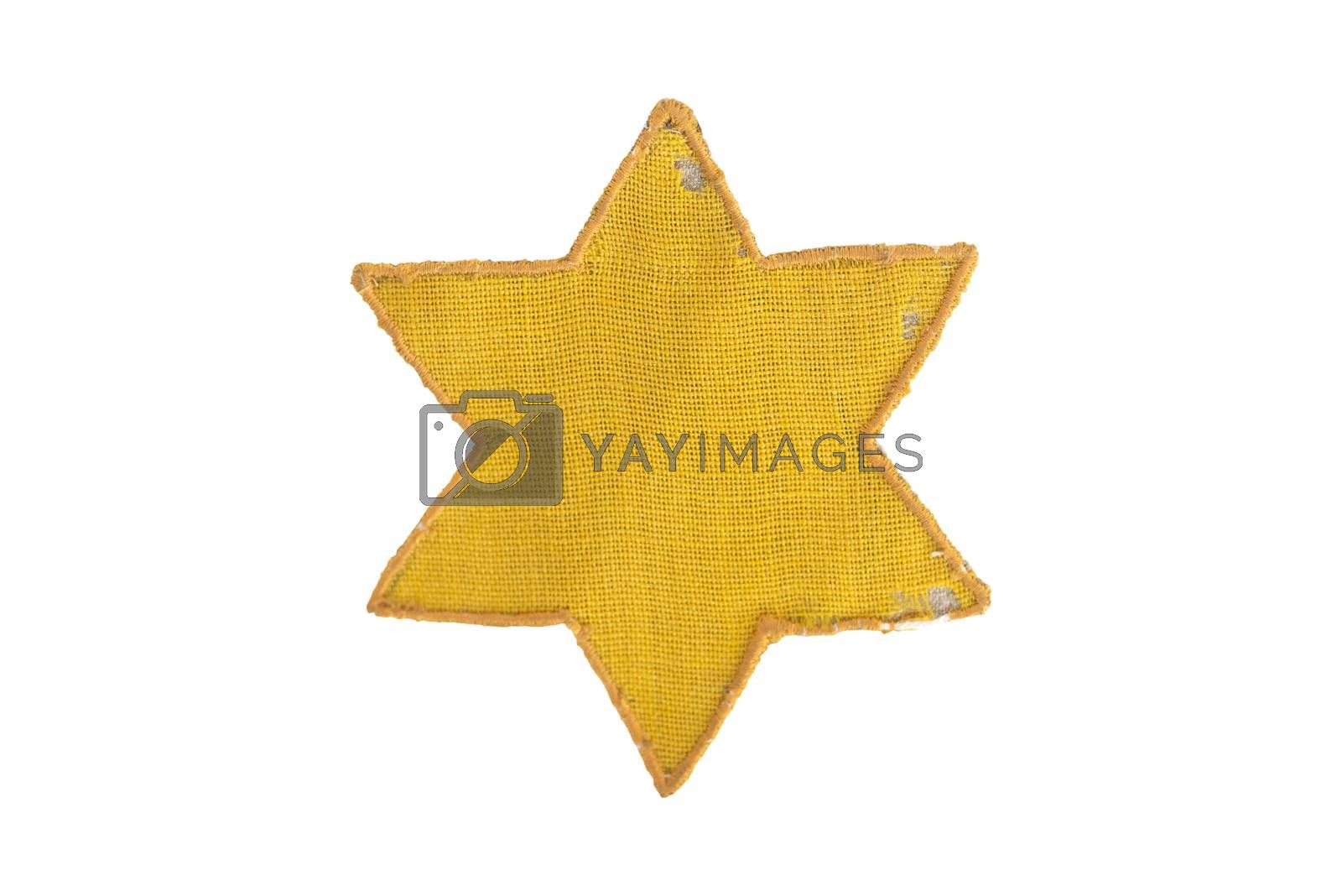 Royalty free image of Yellow Star Of David by tony4urban