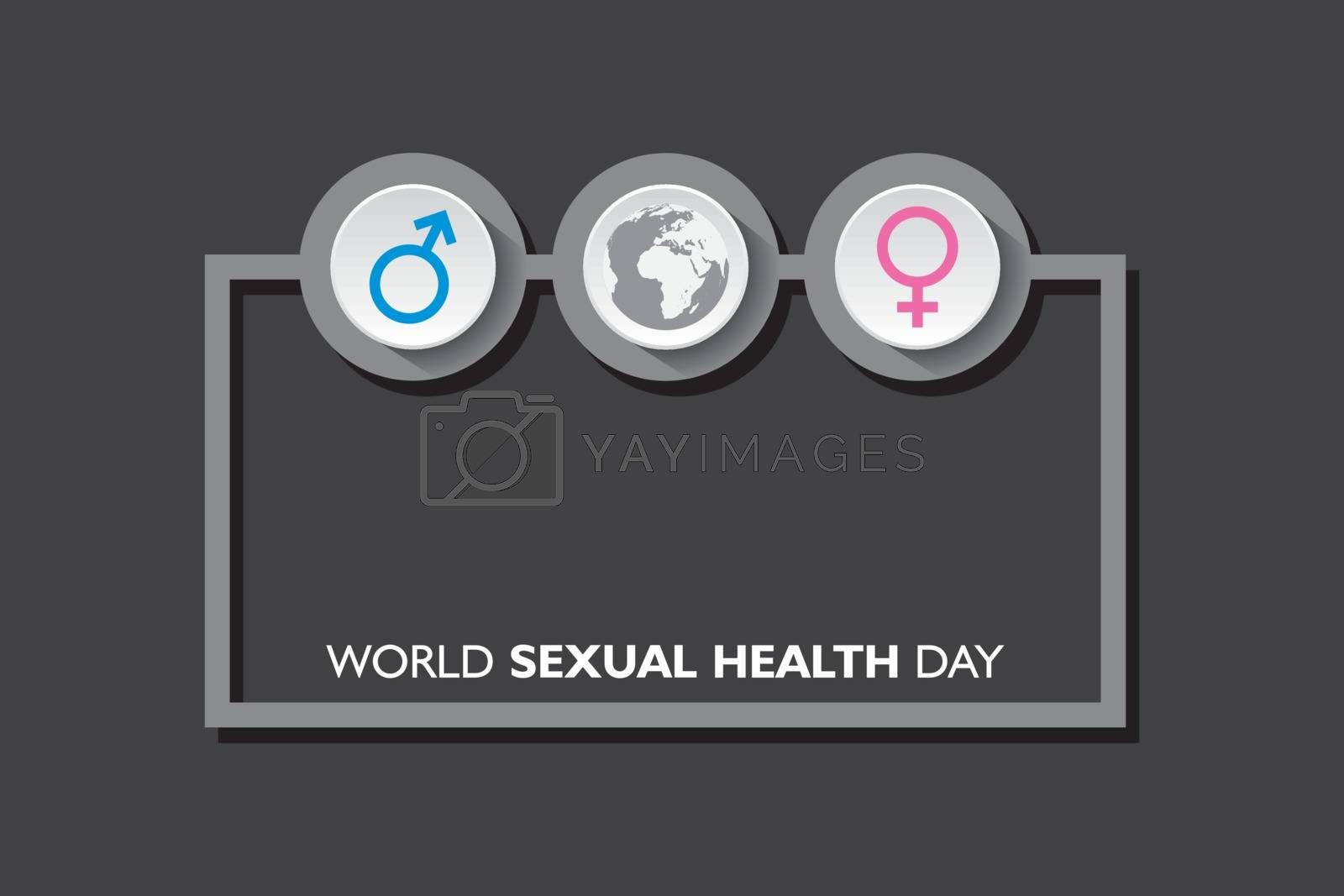 Vector Illustration of World Sexual Health Day Concept which is held on September 4th