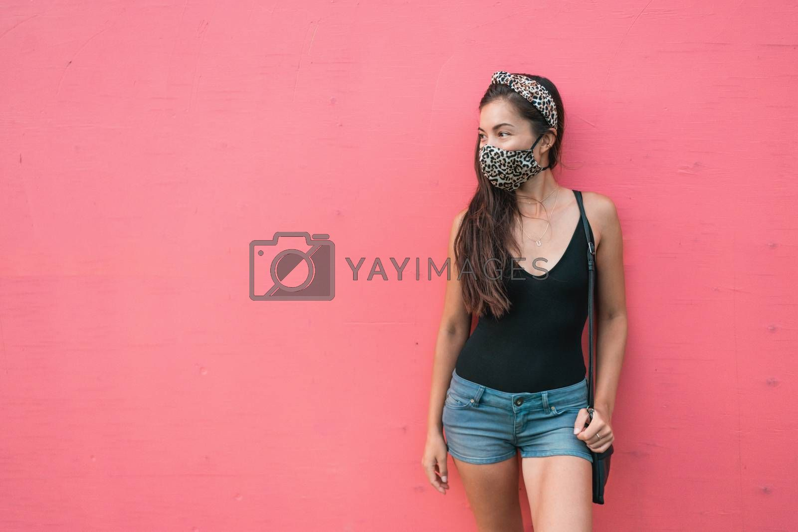 Mask wearing is mandatory in indoor spaces and public park for C by Maridav