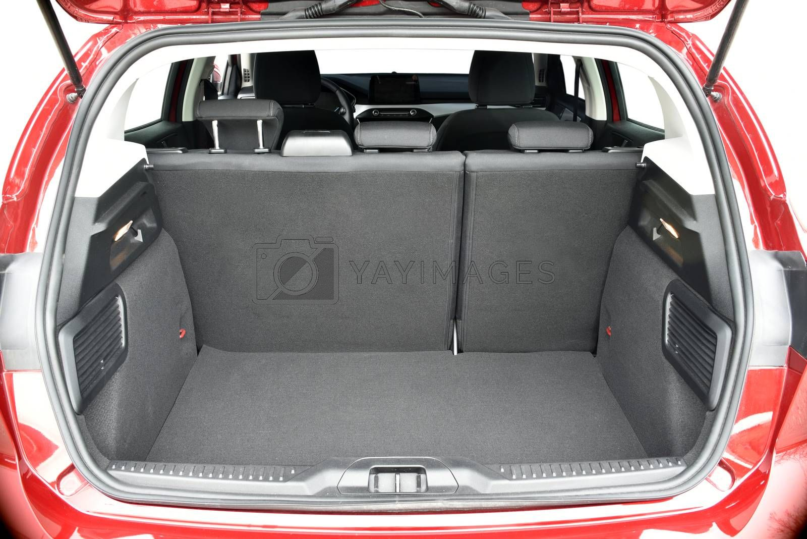 Royalty free image of Trunk of the car by aselsa