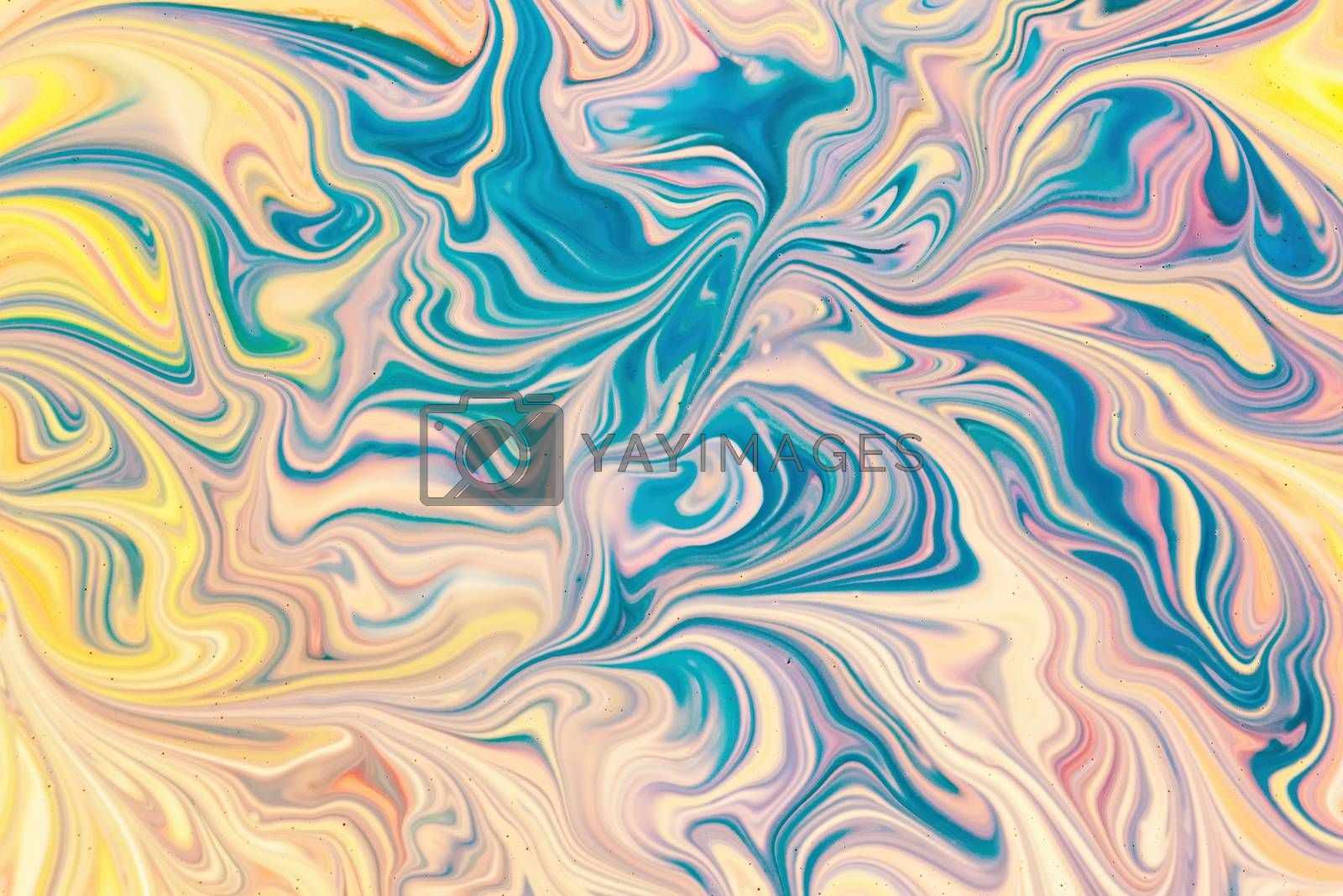 abstract fluid pattern by Visual-Content