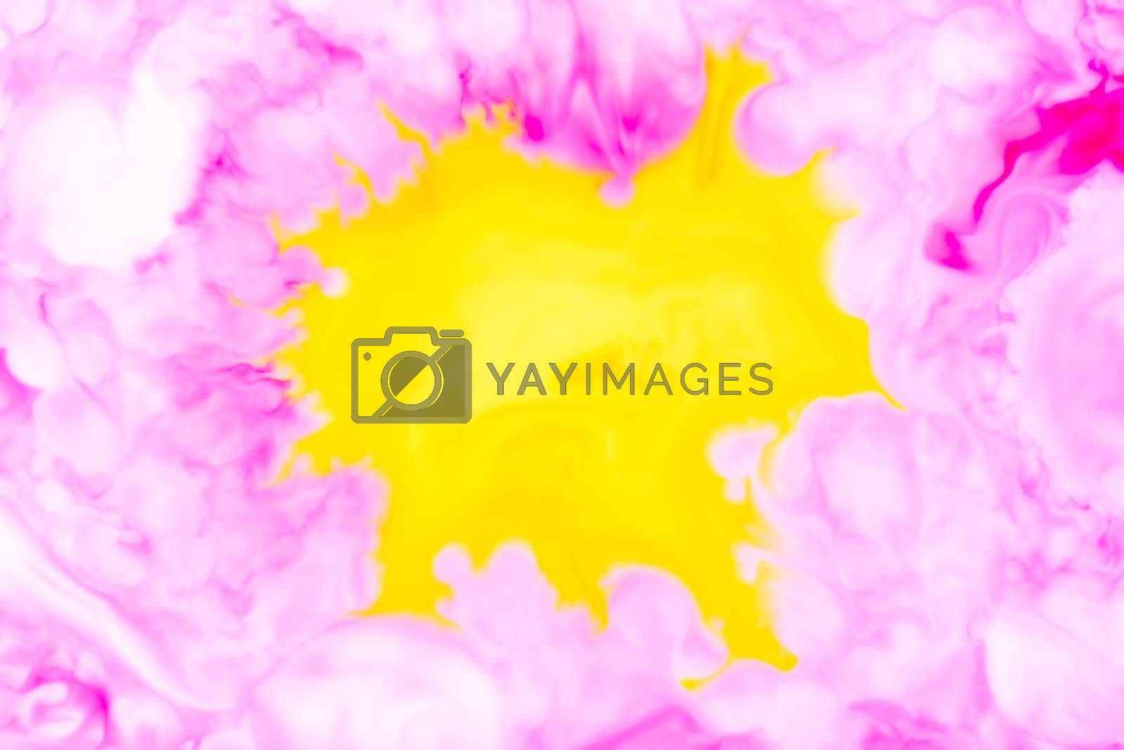Royalty free image of abstract fluid pattern by Visual-Content