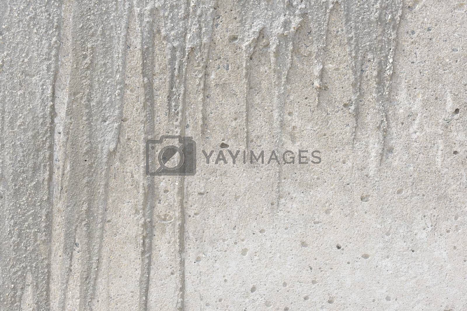 Texture of old gray concrete wall. Concrete wall background