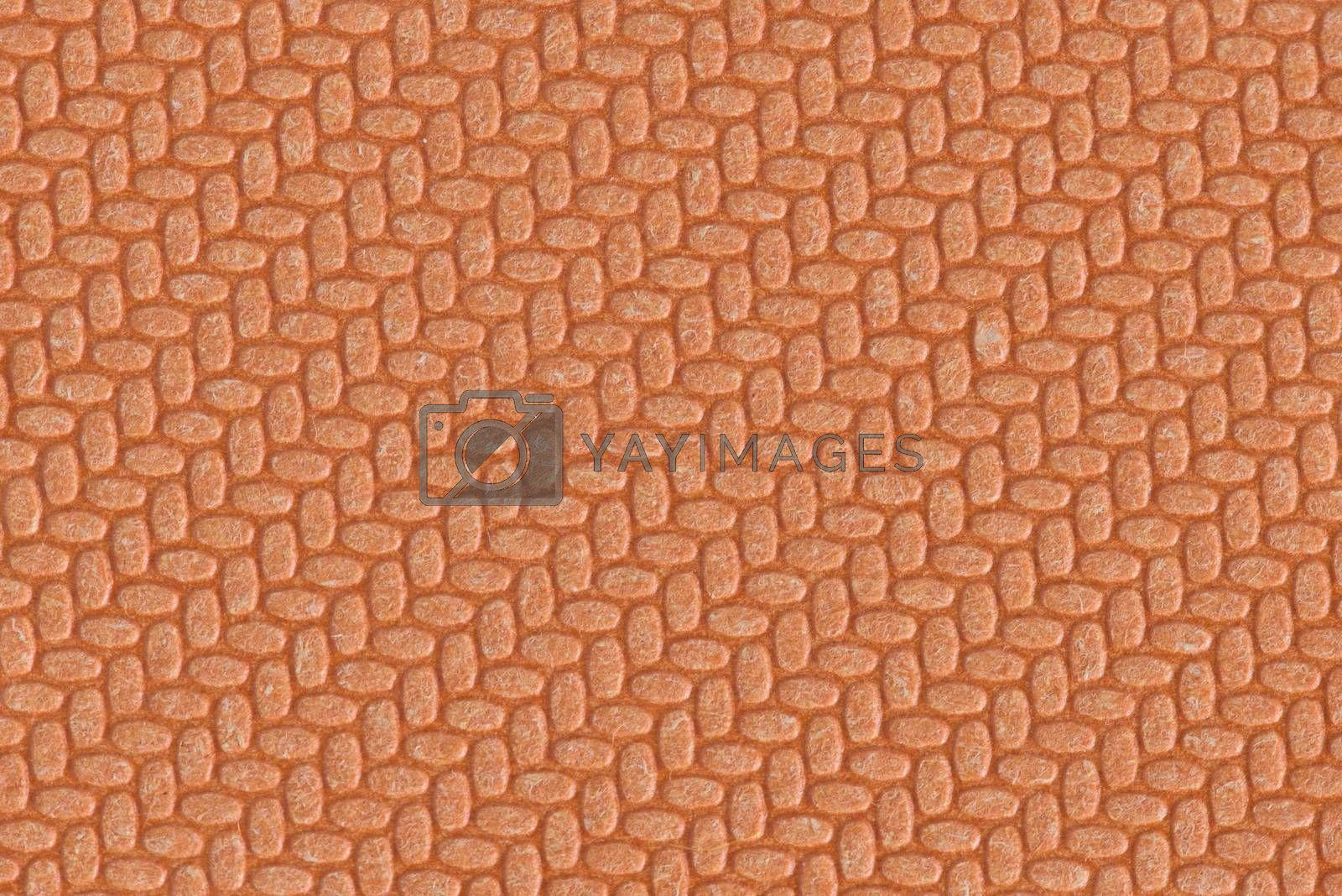 Embossed paper texture. Embossed paper brown background