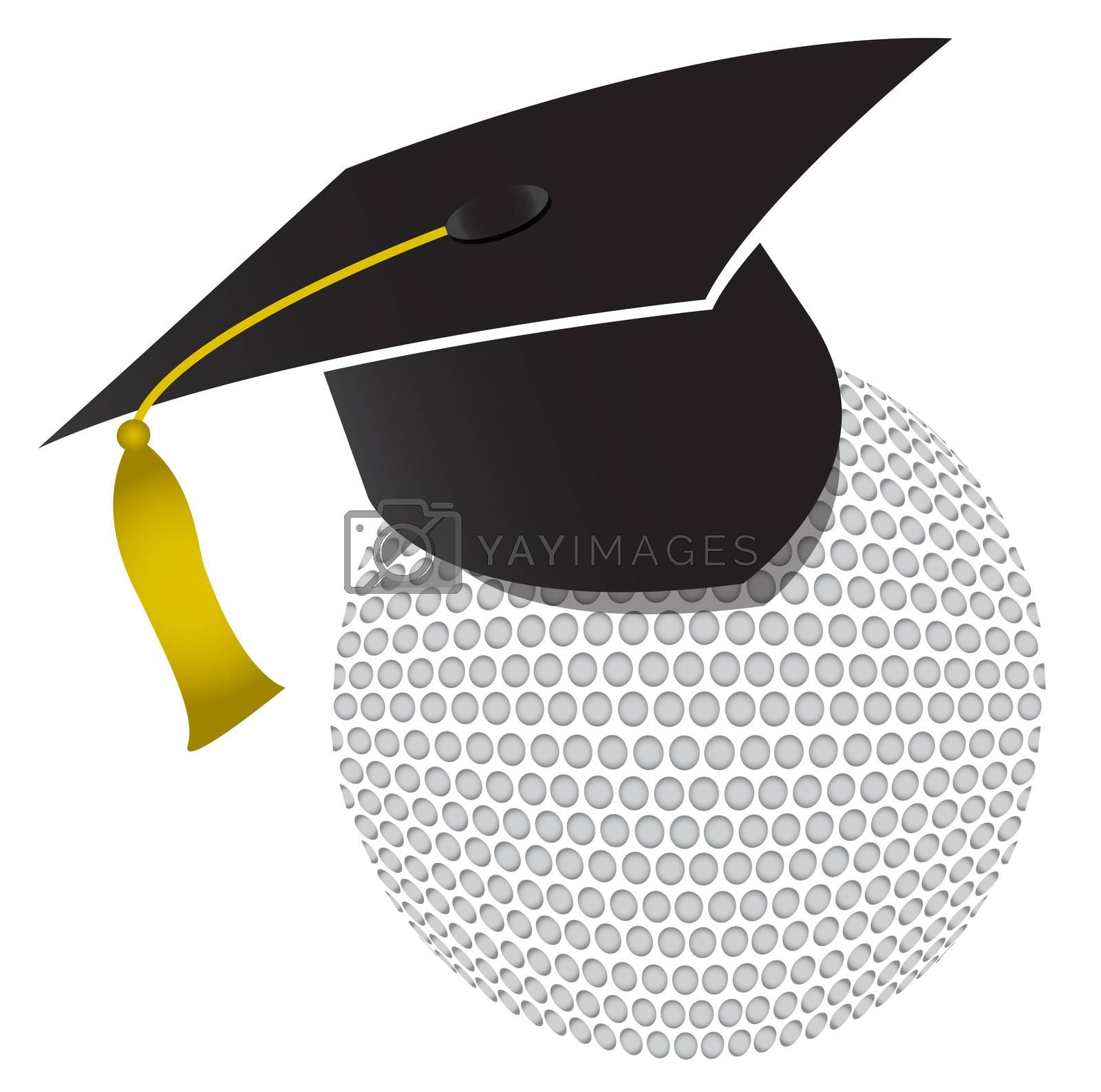 Royalty free image of Golf training school illustration design by alexmillos