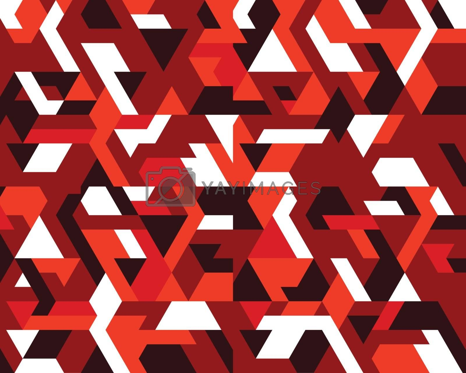 Polygonal mosaic abstract geometry background. Used for creative design templates
