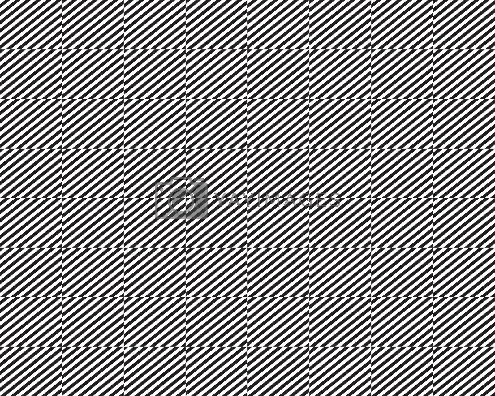 Diagonal lines pattern, seamless decorative background