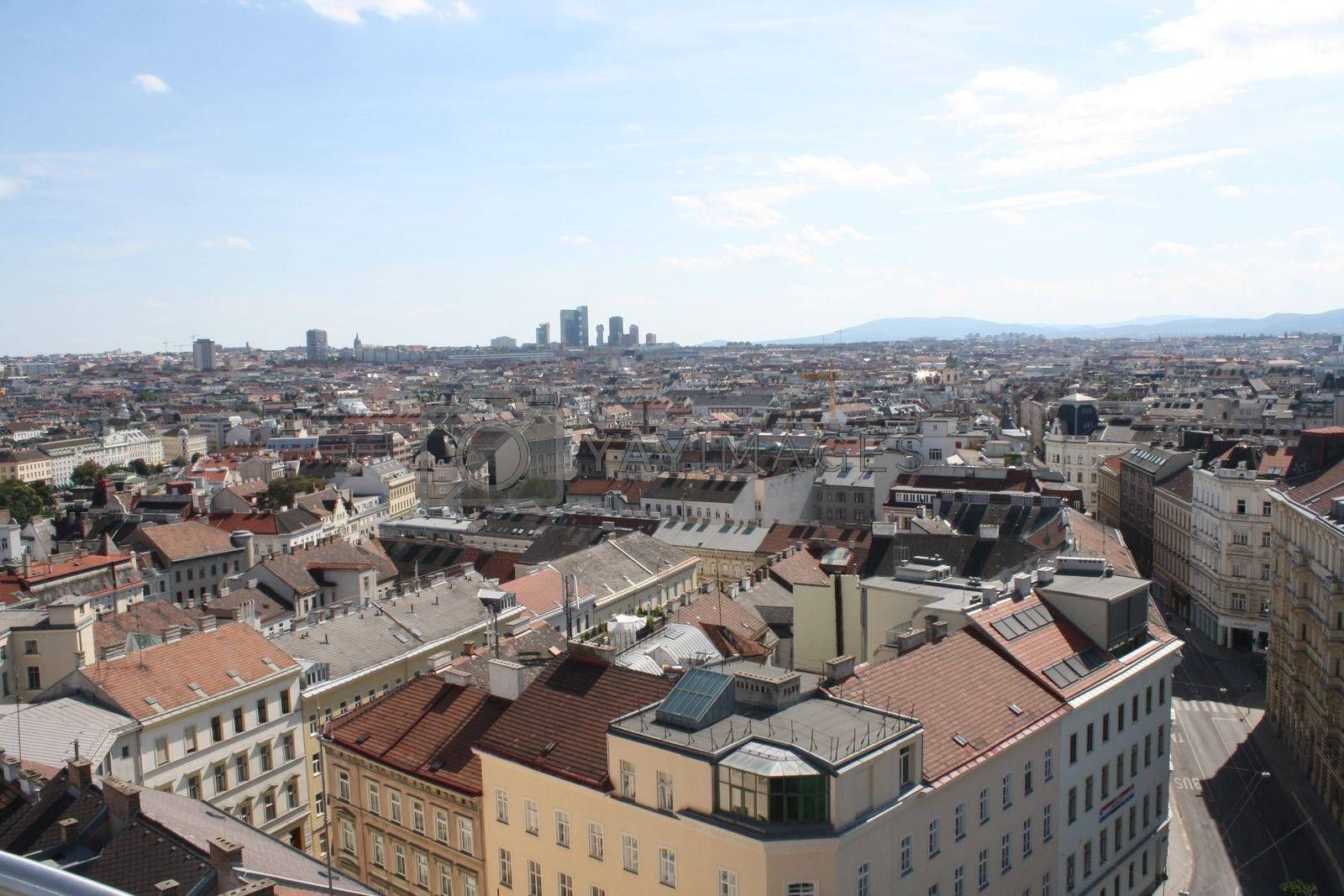 Royalty free image of A view of a Wien city by balage941