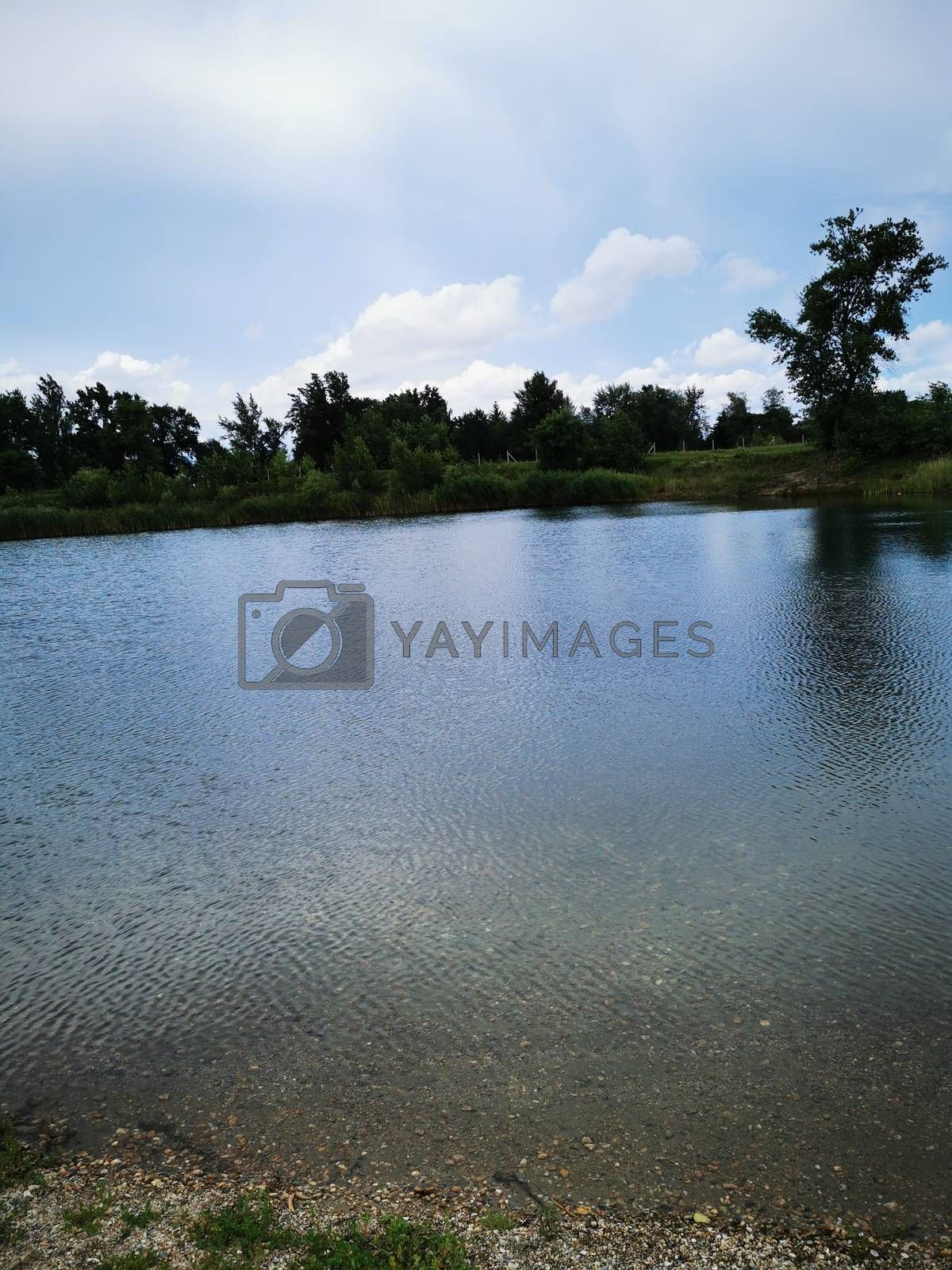 Royalty free image of A large body of water by balage941