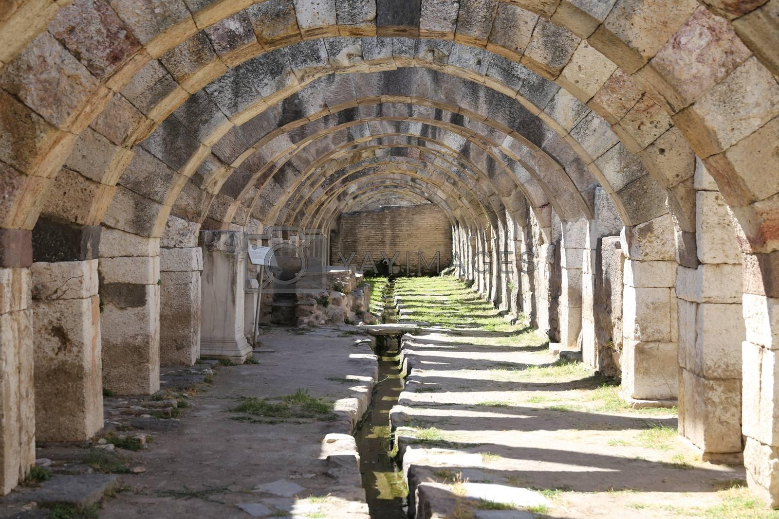 Royalty free image of Agora of Smyrna in Izmir, Turkey by EvrenKalinbacak