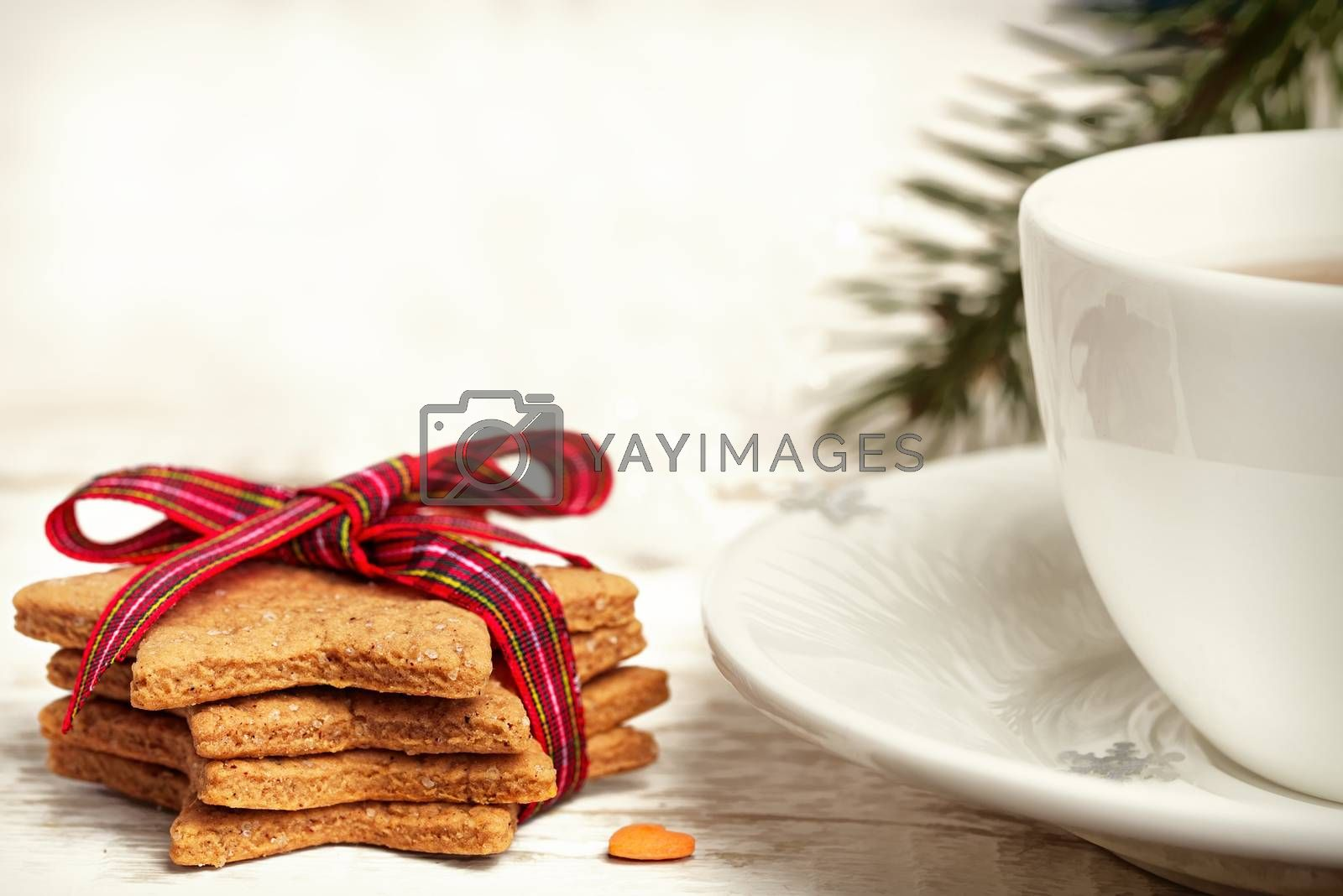 Christmas cookies. Traditional gingerbread. Christmas backgrounds. Holiday baking.