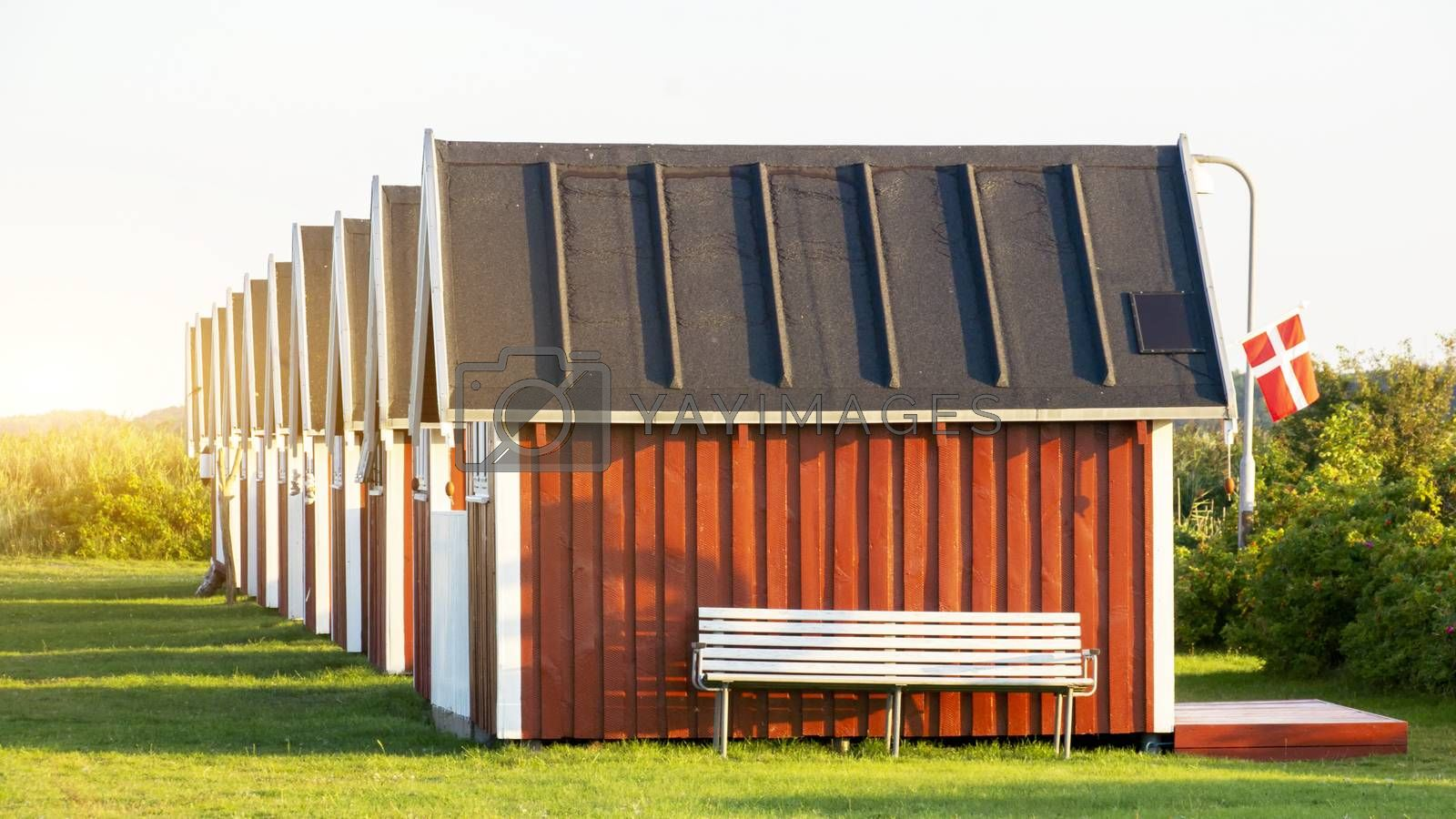 Royalty free image of Fisherman's Cottage in Denmark by Fr@nk