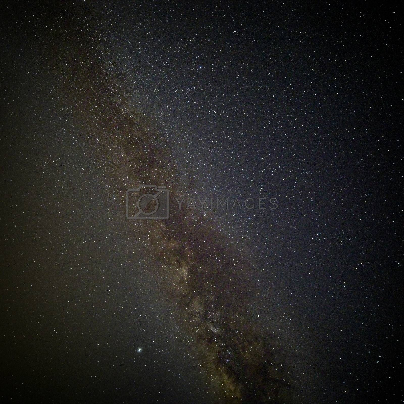 The Milky Way and dark clouds of matter