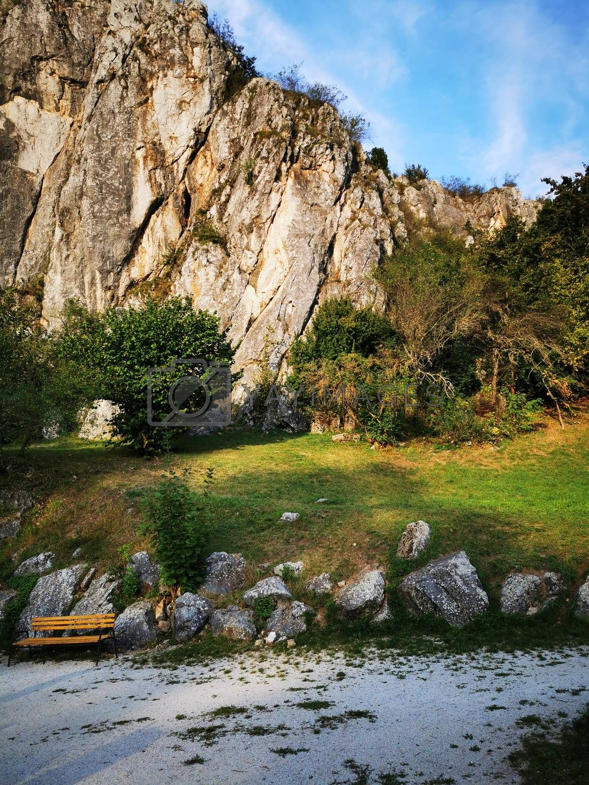Royalty free image of View of the Aggtelek Karst by balage941