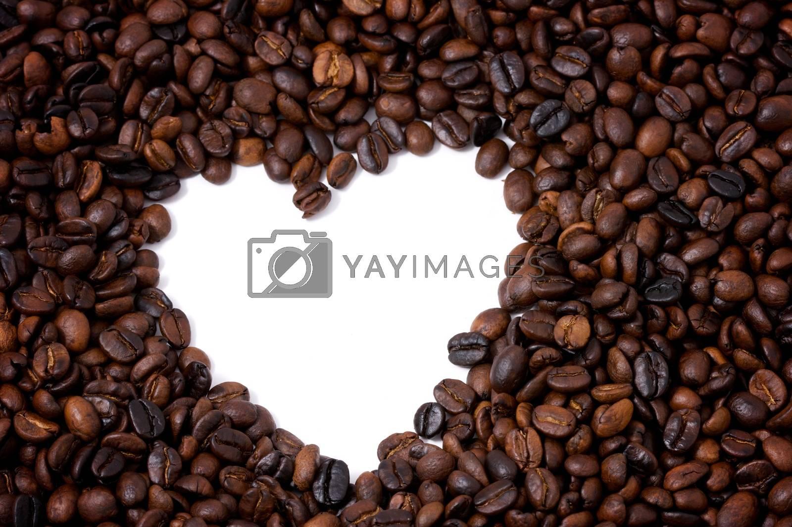 coffee valentine frame background