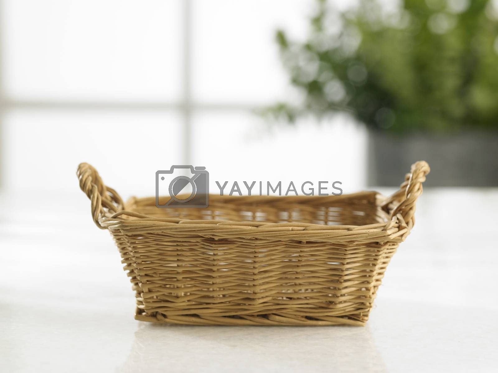 empty hand towel basket by eskaylim