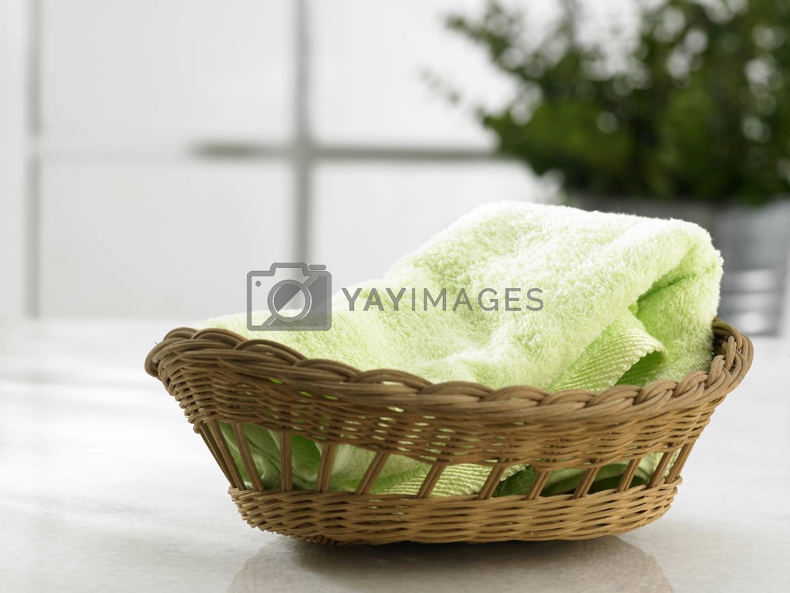 hand towel by eskaylim
