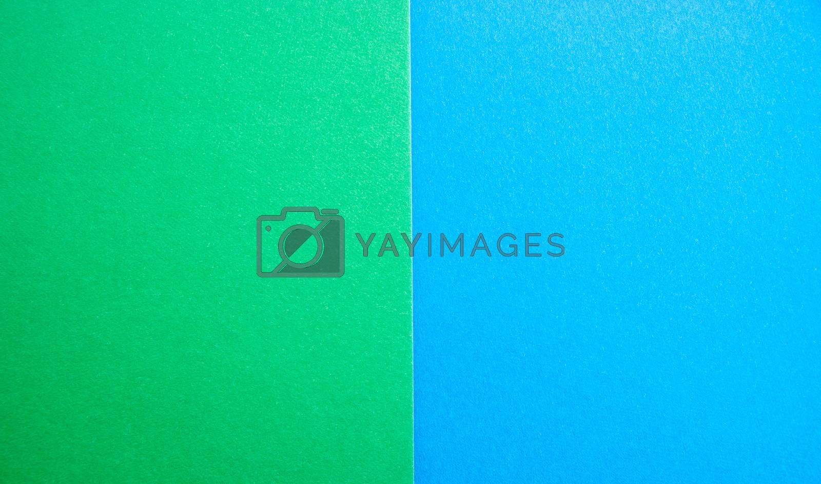 blue-green matte suede background, close-up. Velvety texture