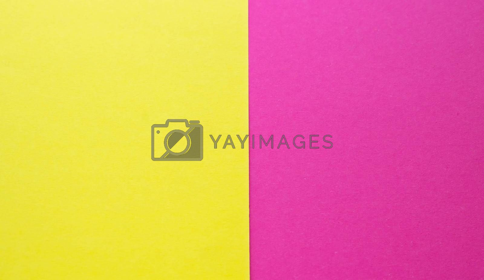 pink and yellow pastel paper color for texture background