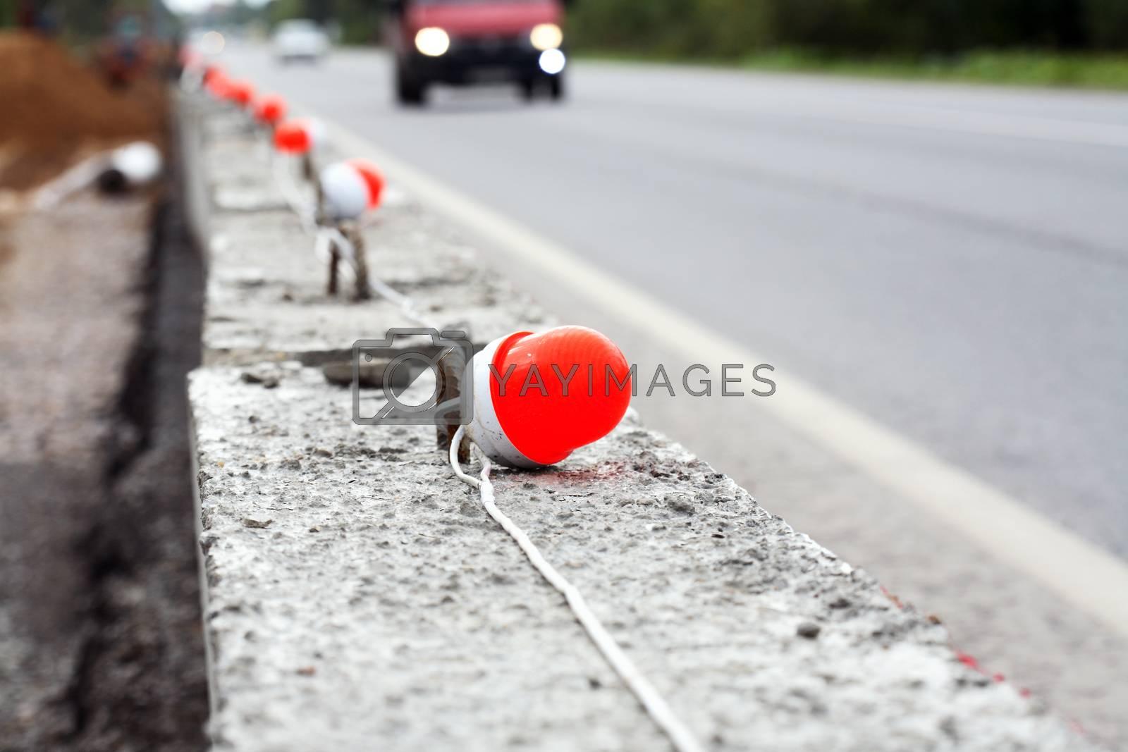 Royalty free image of Repair Of Roads by kvkirillov