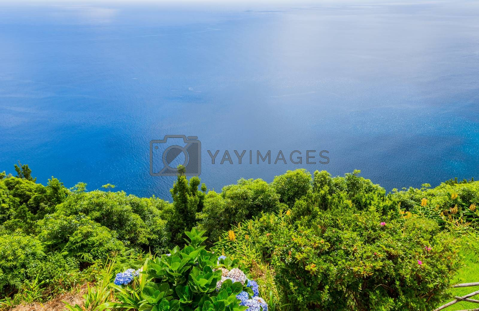 Royalty free image of Viewpoint of Ponta do Sossego by zittto