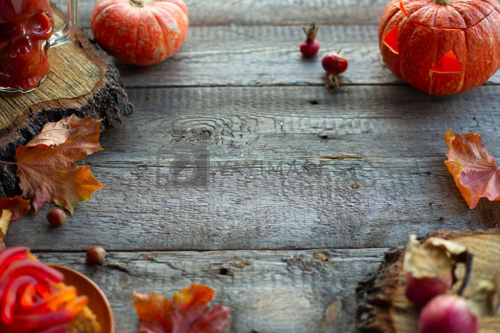 Halloween food card by destillat