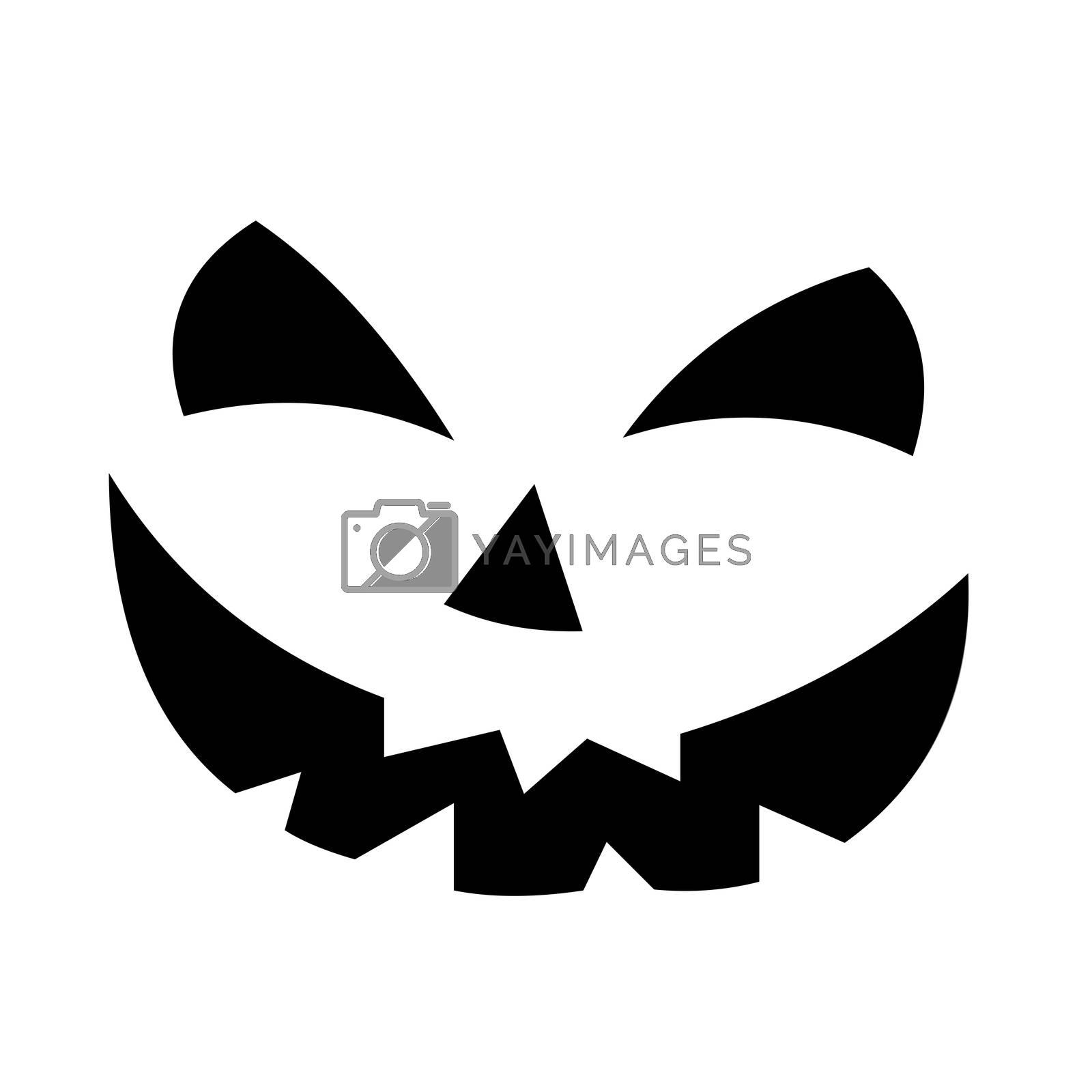 Scary Pumpkin Face
