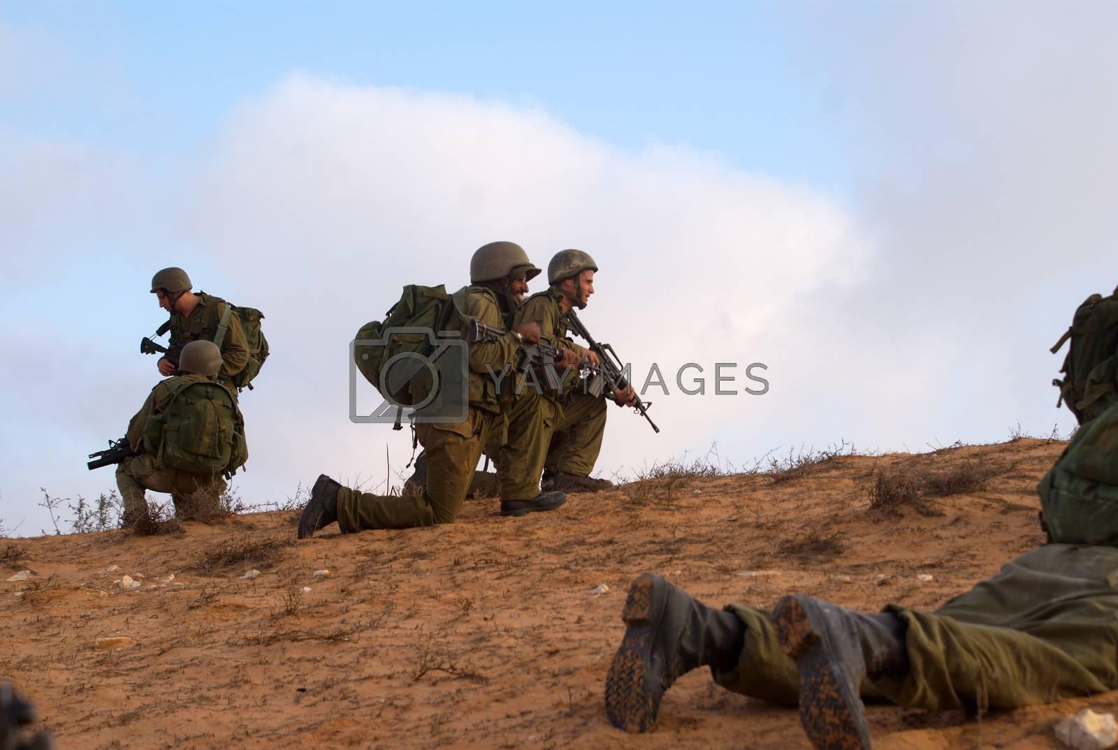 israeli soldiers attacks - war againist terror