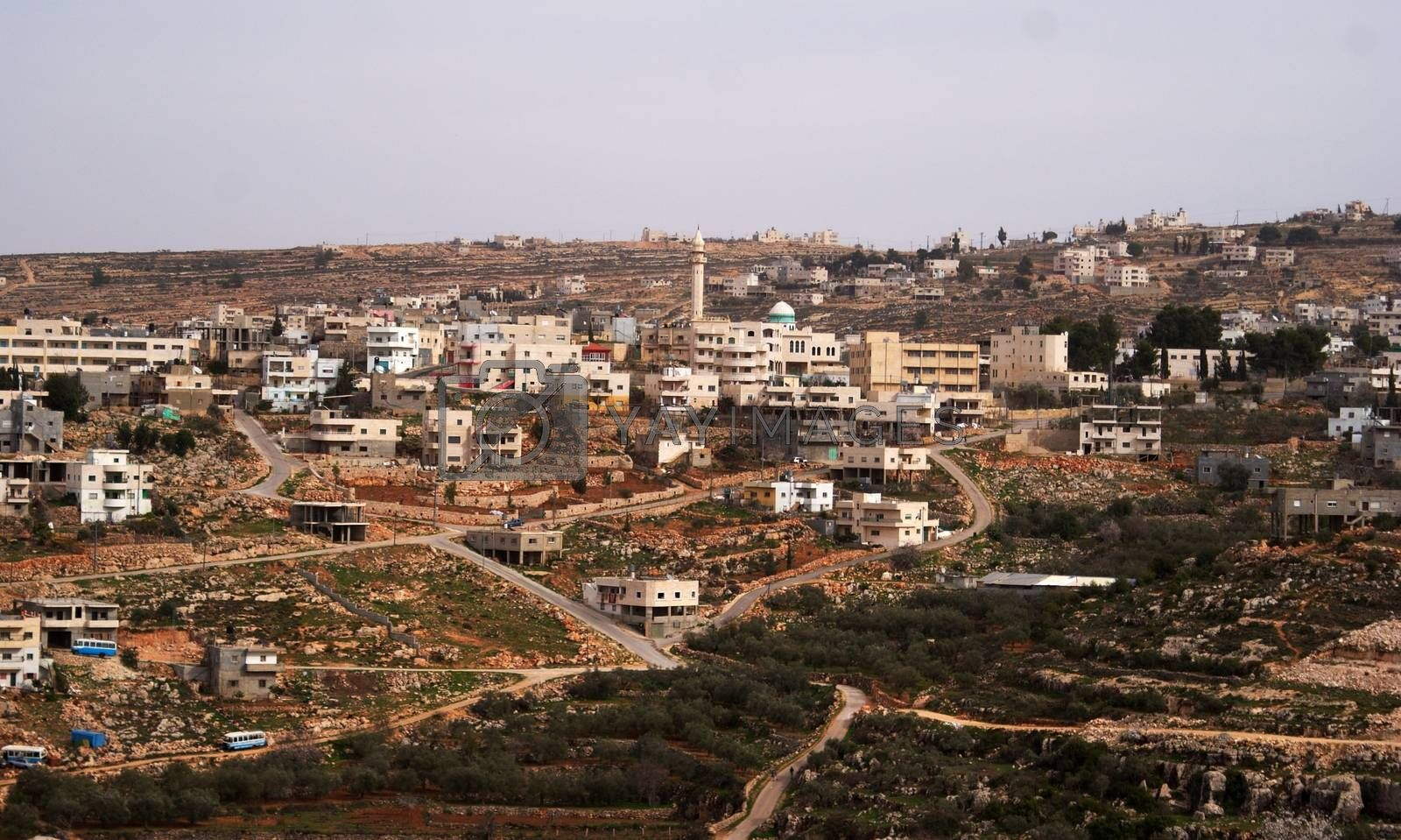 Palestine village by javax