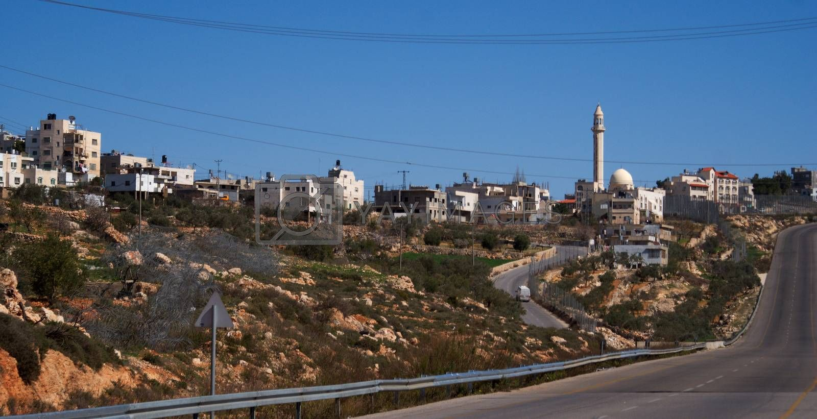 Palestine village by javax