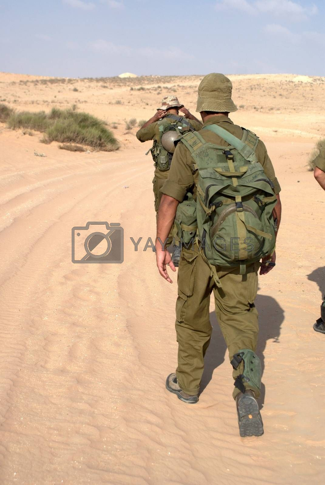 Israeli Army military exercise by javax