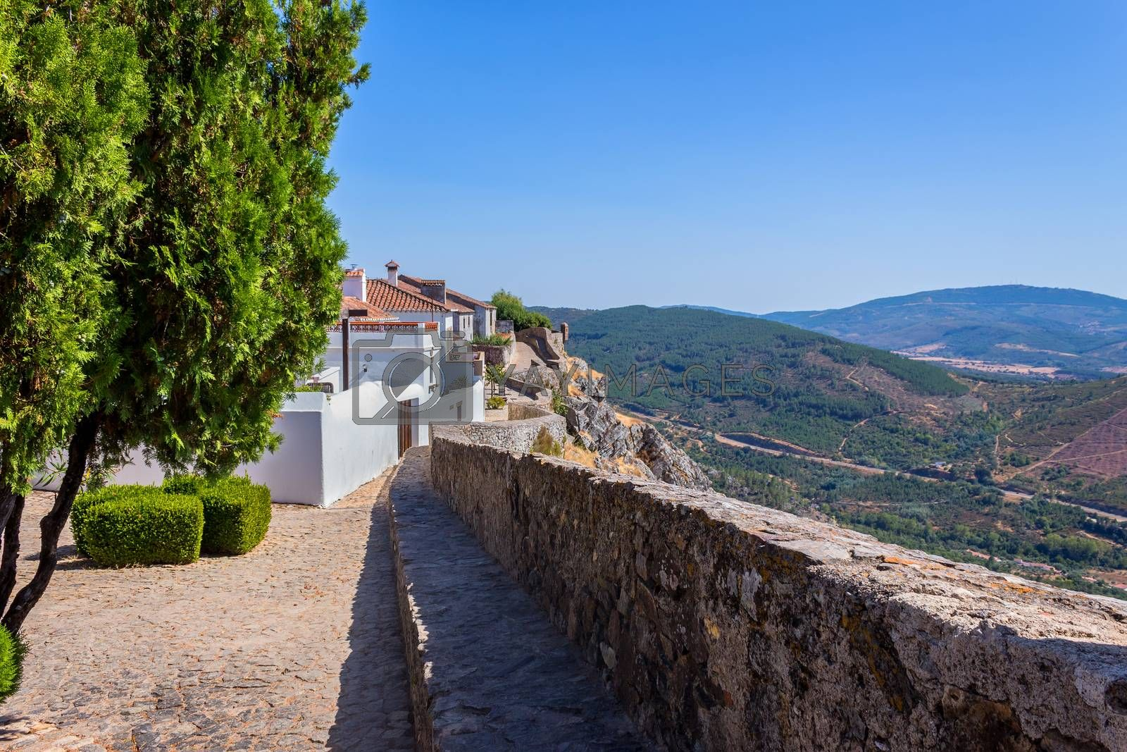 Royalty free image of medieval village of Marvao by zittto